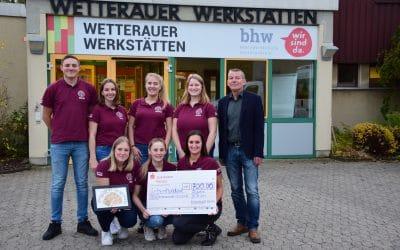 Spende aus Kuhschiss-Lotterie