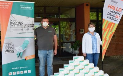 Gladenbacher Unternehmen spendet Mundschutze