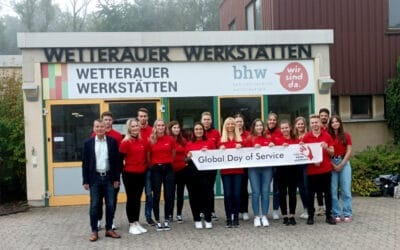 Global Day of Service: Gute Erfahrung